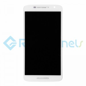 For Motorola Moto X Play LCD and Digitizer Assembly with Front Housing Replacement - White - Grade S+