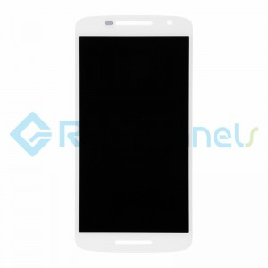 For Motorola Moto X Play LCD Screen and Digitizer Assembly Replacement - White - Grade S+