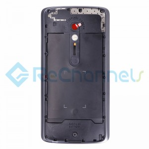 For Motorola Moto X Play Middle Plate Replacement - Black - Grade S+