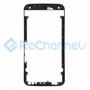 For Motorola Moto X Style Front Housing Replacement - Black - Grade S+