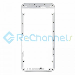 For Motorola Moto X Style Front Housing Replacement - White - Grade S+