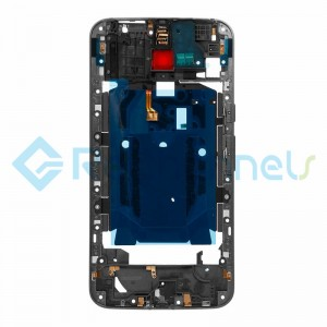 For Motorola Moto X Style Middle Plate Replacement - Black - Grade S+