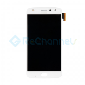 For Motorola Moto Z2 Play XT1710 LCD Screen and Digitizer Assembly Replacement - White - Grade S