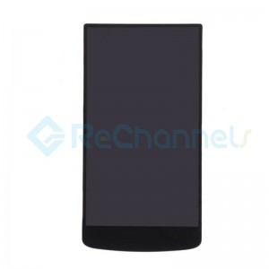 For Oppo N1 LCD Screen and Digitizer Assembly Replacement - Black - Grade S+