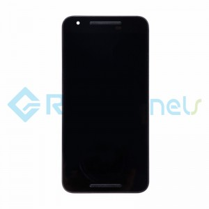 For LG Nexus 5X LCD Screen and Digitizer Assembly with Front Housing Replacement (Without Small Parts) - Black - Grade S+