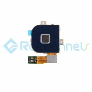 For Huawei Google Nexus 6P Home Button Flex Cable Ribbon Replacement - Black - Grade S+