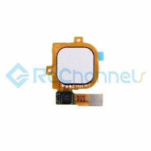 For Huawei Nexus 6P Home Button Flex Cable Ribbon Replacement - White - Grade S+