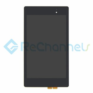 For Asus Google Nexus 7 Tablet(2013) LCD Screen and Digitizer Assembly Replacement - Grade S+