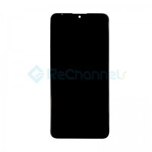 For Nokia 6.2 LCD Screen and Digitizer Assembly Replacement - Ceramic Black - Grade S+