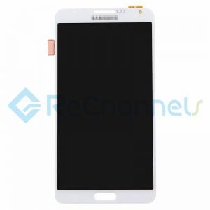 For Samsung Galaxy Note 3 Series LCD Screen and Digitizer Assembly Replacement - White - Grade S+