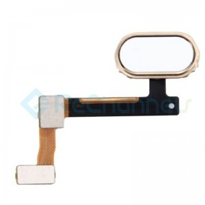 For OPPO R9 Home Button Flex Cable Replacement - Gold - Grade S+
