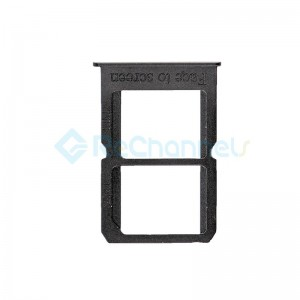 For OnePlus 3 SIM Card Tray Replacement - Black - Grade S+