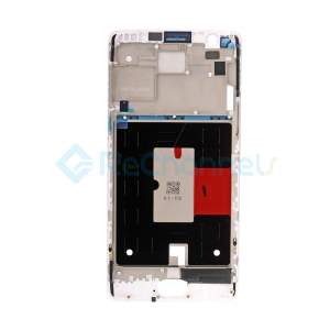 For OnePlus 3/3T LCD Supporting Frame Replacement - White - Grade S+