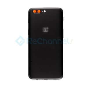 For OnePlus 5 Rear Housing Replacement - Midnight Black - Grade S+
