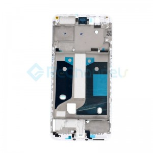 For OnePlus 5 LCD Supporting Frame Replacement - White - Grade S+