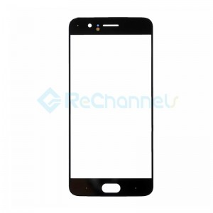 For OnePlus 5 LCD Front Glass Lens Replacement - Black - Grade S+