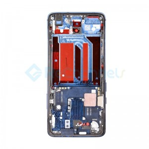 For OnePlus 7 Pro Middle Housing Front Bezel Replacement - Blue - Grade S+