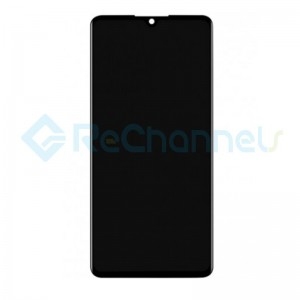 For Huawei P30 LCD Screen and Digitizer Assembly Replacement - Black - Grade S+