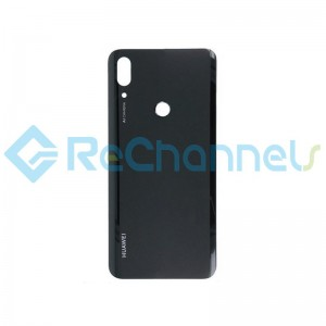 For Huawei P Smart Z Battery Door Replacement - Midnight Black - Grade S+