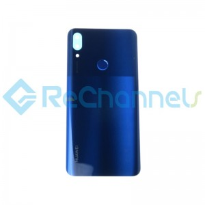 For Huawei P Smart Z Battery Door Replacement - Sapphire Blue - Grade S+
