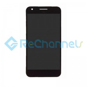 For Google Pixel LCD Screen and Digitizer Assembly Replacement - Black - Grade S+