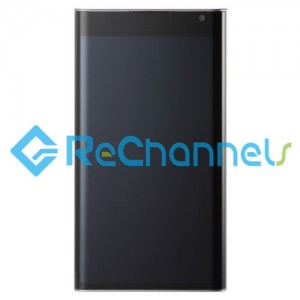 For Blackberry PRIV LCD Screen and Digitizer Assembly Replacement - Black - Grade S+