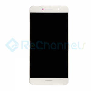 For Huawei Y6 Pro/Enjoy 5 LCD Screen and Digitizer Assembly Replacement - Gold - With Logo - Grade S+