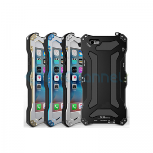 Gundam Aluminum Three Proof Phone Case for iPhone 6 Plus/6s Plus/7 Plus/8 Plus - Black/Blue/Gold/Silver