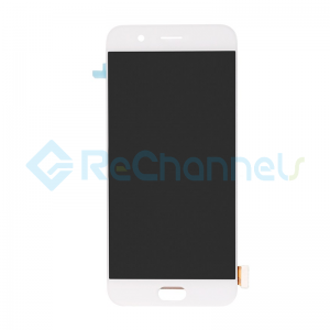 For Oppo R11 LCD Screen and Digitizer Assembly Replacement - White - Grade S+