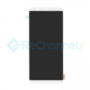 For Oppo R11s LCD Screen and Digitizer Assembly Replacement - White - Grade S+