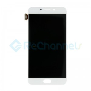 For Oppo R9 LCD Screen and Digitizer Assembly Replacement - White - Grade S+