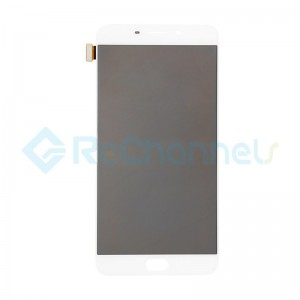 For Oppo R9 Plus LCD Screen and Digitizer Assembly Replacement - White - Grade S+