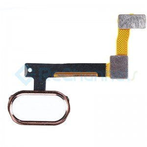 For OPPO R9 Home Button Flex Cable Replacement - Rose - Grade S+