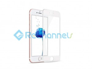 For Apple iPhone 7 Plus/8 Plus normal Tempered Glass Screen Protector with full curve (Without Package)