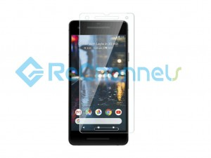 For Google Pixel 2 Tempered Glass Screen Protector (Without Package) - Grade R