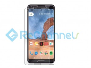 For Google Pixel 3 Tempered Glass Screen Protector (Without Package) - Grade R