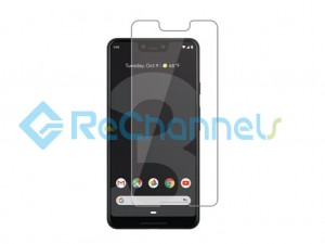 For Google Pixel 3 XL Tempered Glass Screen Protector (Without Package) - Grade R