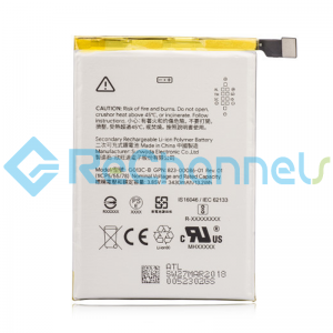 For Google Pixel 3 Battery Replacement - Grade S+