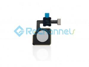 For Google Pixel 2 XL Fingerprint Flex Cable Ribbon Replacement  - White - Grade S+
