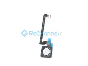 For Google Pixel 3 Fingerprint Flex Cable Ribbon Replacement  -White - Grade S+