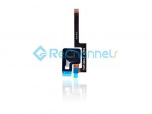For Google Pixel 3 XL Fingerprint Flex Cable Ribbon Replacement  - Black - Grade S+