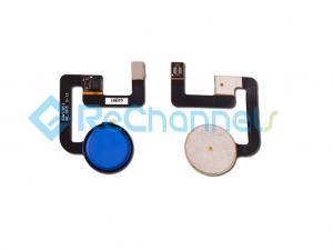 For Google Pixel Fingerprint Flex Cable Ribbon Replacement - Blue - Grade S+