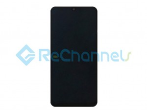 For Samsung Galaxy A50 SM-A505 LCD Screen and Digitizer Assembly Replacement - Black - Grade S+