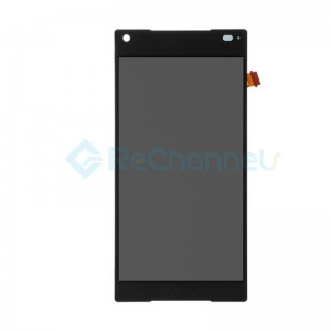 For Sony Xperia Z5 LCD Screen and Digitizer Assembly Replacement - Black - Grade S