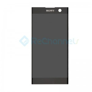 For Sony Xperia XA2 LCD Screen and Digitizer Assembly Replacement - Black - Grade S