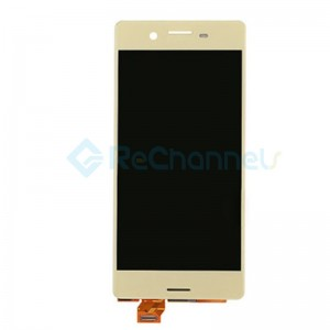 For Sony Xperia X LCD Screen and Digitizer Assembly Replacement - Gold - Grade S
