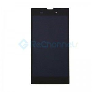 For Sony Xperia T3 LCD Screen and Digitizer Assembly Replacement - Black - Grade S