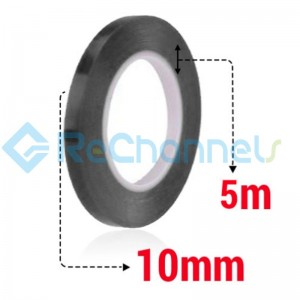 For Tape 10MM X 5M (Black Tape)