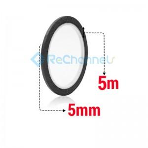 For Tape 5MM X5M (Black Tape)