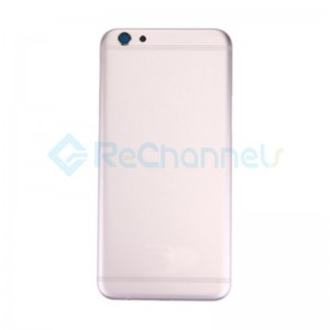 For OPPO R9s Battery Door Replacement - Rose - Grade S+